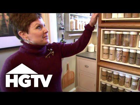 Small Kitchen Storage Ideas - HGTV Video