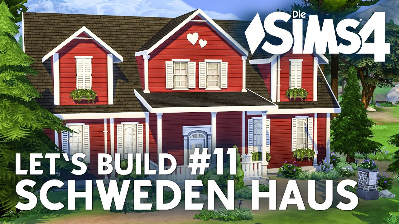 die sims 4 let 39 s build schweden haus 11 garten bauen youtube. Black Bedroom Furniture Sets. Home Design Ideas
