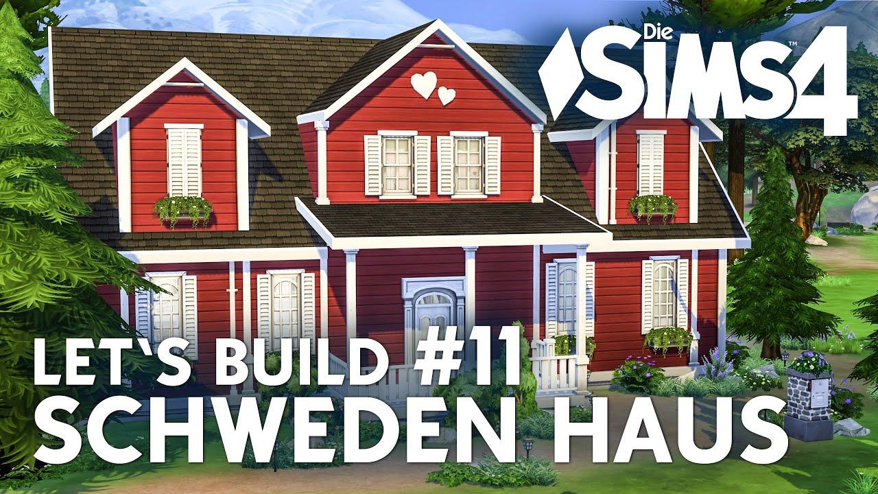 die sims 4 let's build schweden haus #11 | garten bauen - youtube