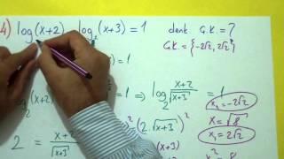 Logaritma Soru Çözümü Şenol Hoca Matematik