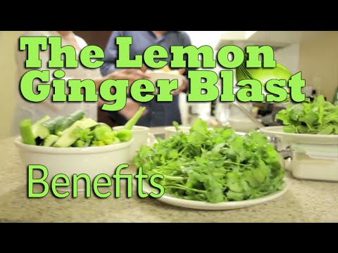 Cure Crohn's Naturally with the Lemon Ginger Blast