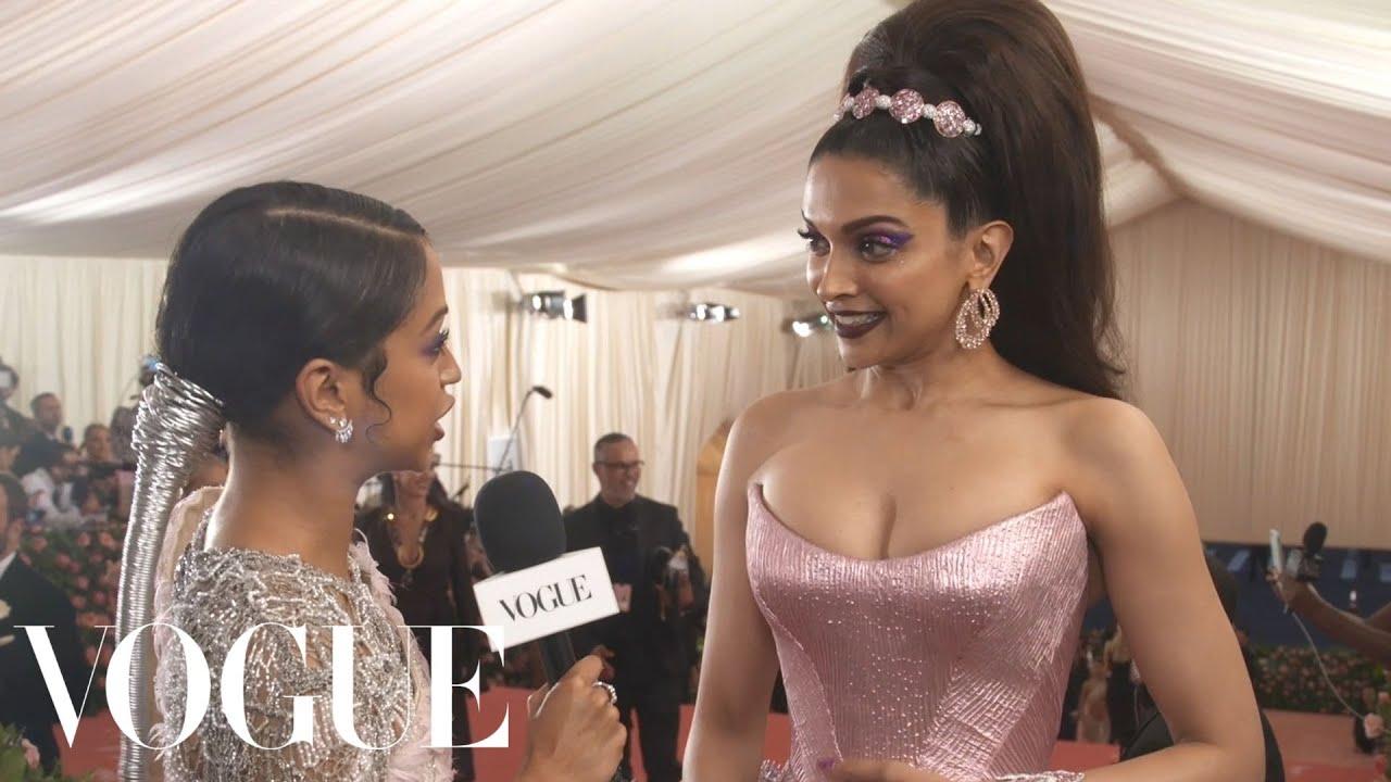 Deepika Padukone On Her Pink Underwater Inspired Dress Met Gala