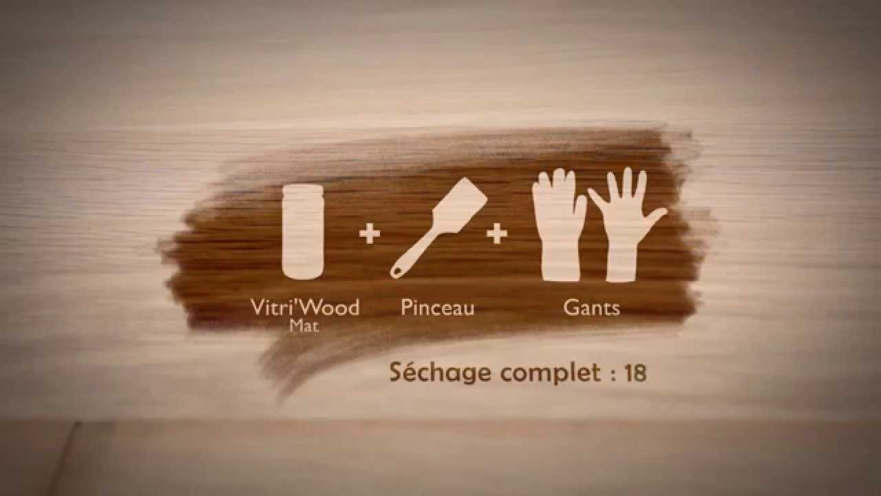 comment vitrifier un parquet en bois de ch ne tutoriel d taill protec 39 wood youtube. Black Bedroom Furniture Sets. Home Design Ideas