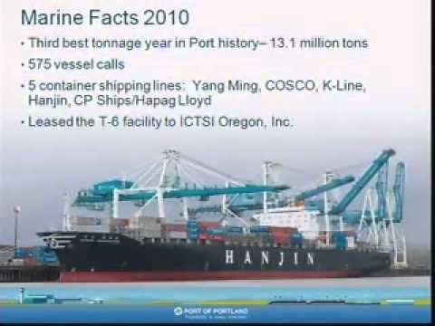 Oregon, Port of Portland, International Marketing and Trade