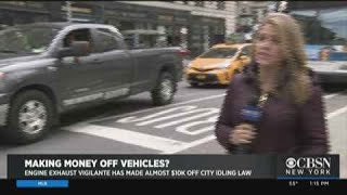 Man Making Money Off Idling Vehicles In NYC