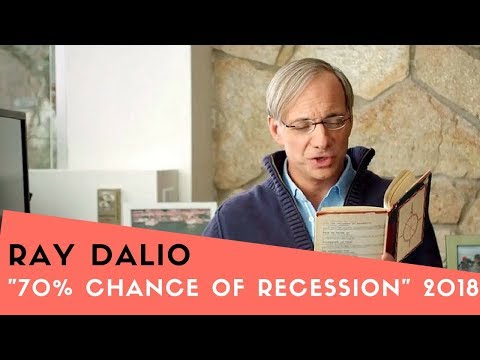 "RAY DALIO : says, ""70% Chance of a Recession"""