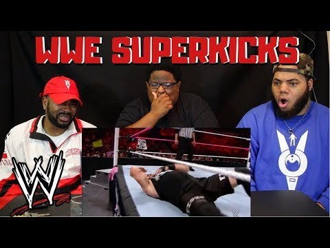 WWE SUPERKICK COMPILATION PART 1 - REACTION!!!