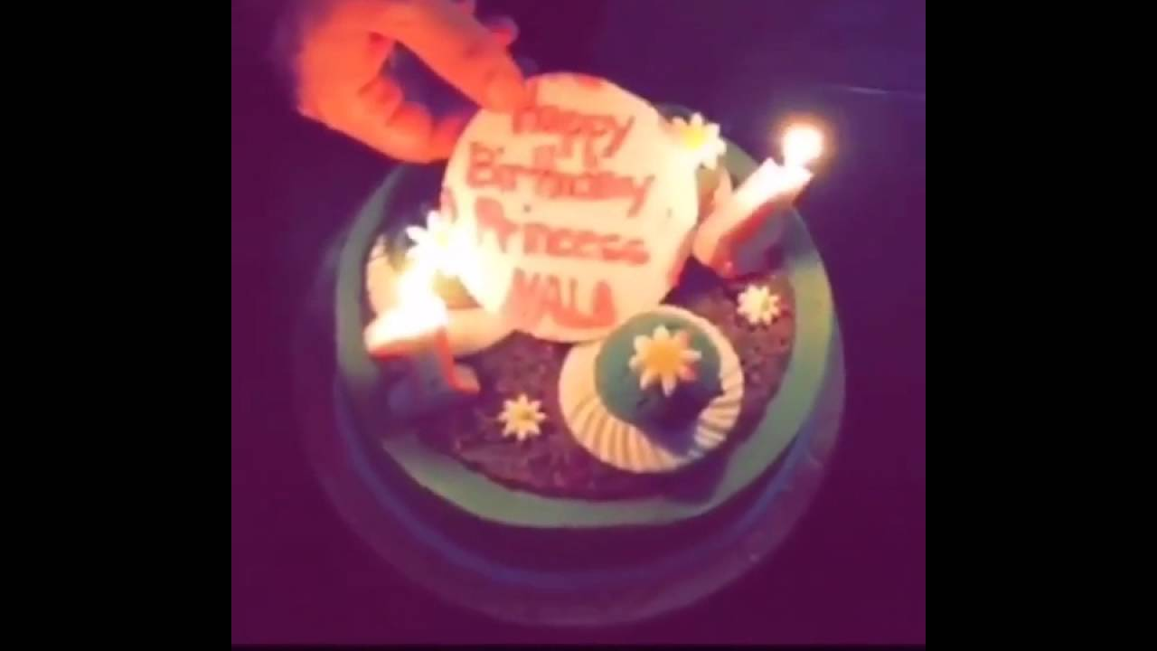 Hala Al Turk 14 Birthday Cake Youtube