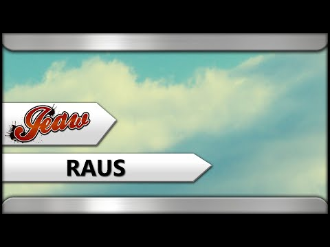 JEAW   RAUS (Official Audio)