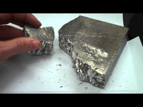 Rotometals.com Bismuth Ingot 99.99%.wmv
