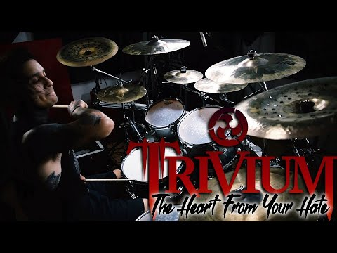 """Trivium """"The Heart From Your Hate"""" Drum Cover By Fernando Lemus"""