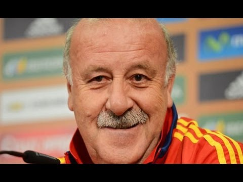 Spain manager Del Bosque dismisses reports of player discord ahead of Ireland match
