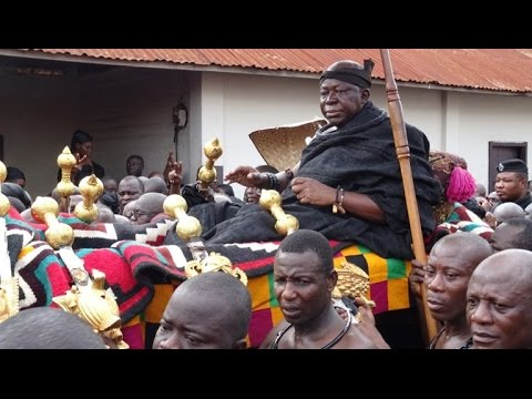 OTUMFUO MOVING TRIBUTE TO HIS LATE MOTHER, NANA AFIA SERWAA
