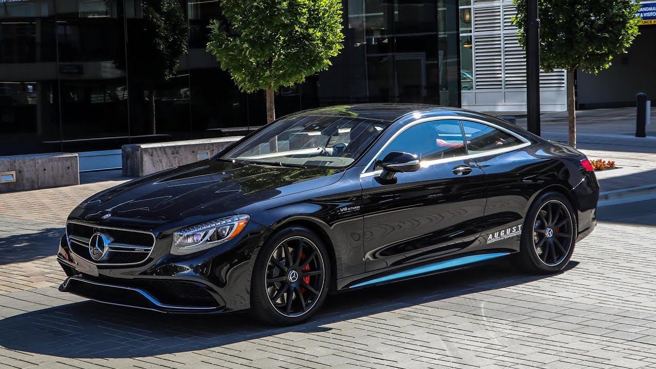 Mercedes Benz S63 Amg Coupe >> 2015 Mercedes Benz S63 Amg Coupe A Closer Look