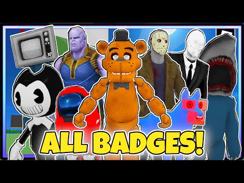 HOW TO GET ALL 80 BADGES In TREVOR CREATURES KILLER 2 | ROBLOX