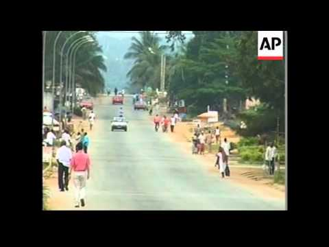 IVORY COAST: SOLDIERS BRING COUNTRY UNDER CONTROL