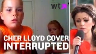 Cher Lloyd Cover Gets Interrupted By Toilet Trouble | What's Trending Now