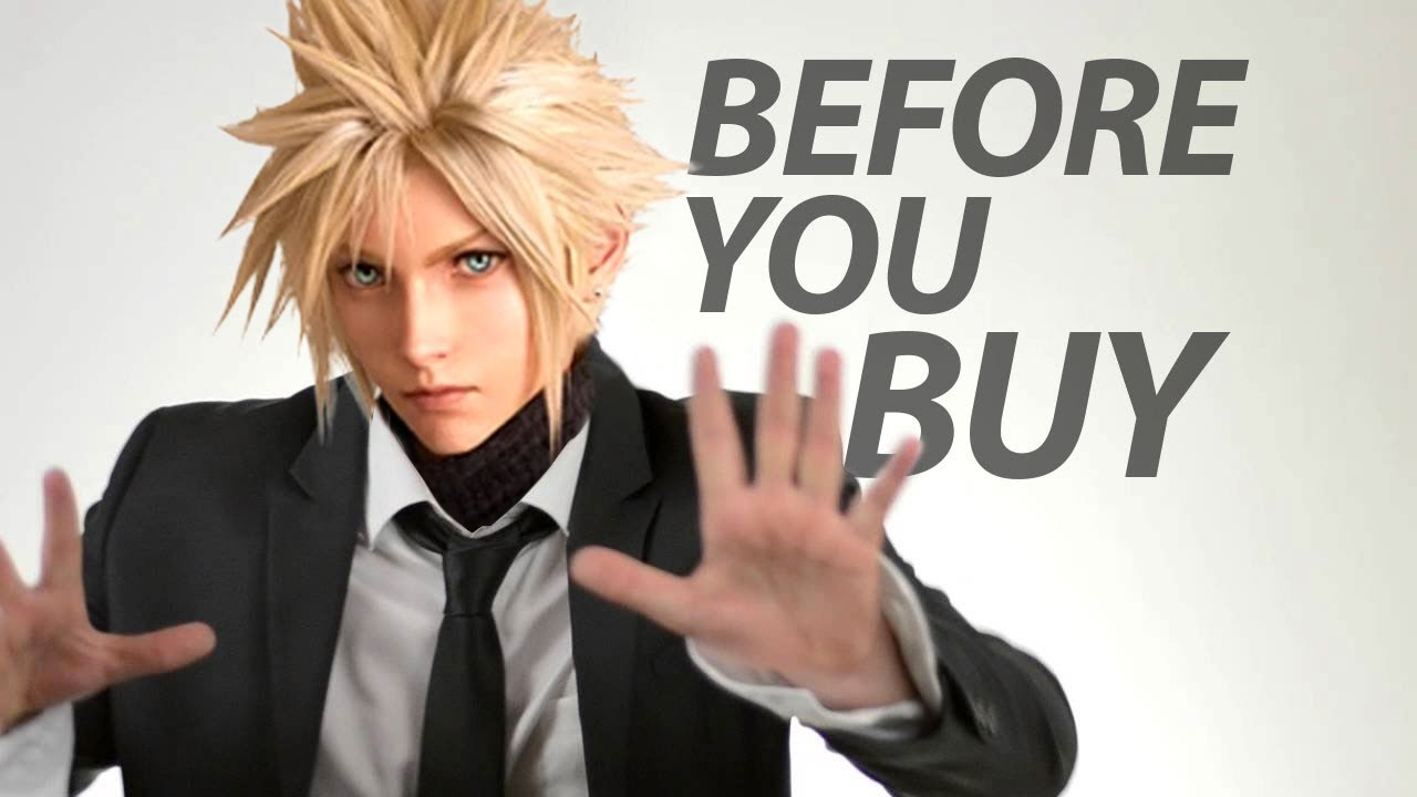 Final Fantasy VII Remake - Before You Buy