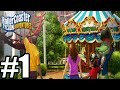 RollerCoaster Tycoon Adventures Gameplay Walkthrough Part 1 - Nintendo Switch