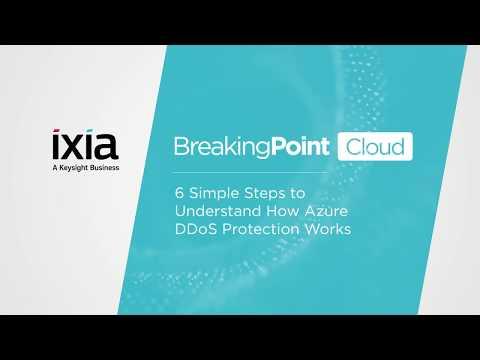 BreakingPoint Cloud   Ixia