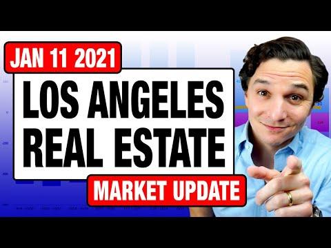 Los Angeles Real Estate Market Update - January 11, 2021