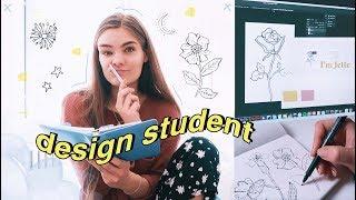 Mein Alltag als Design Studentin - Weekly Vlog #5 // I'mJette