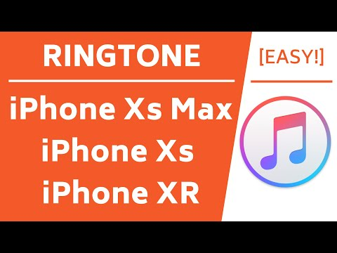 Make Ringtone for iPhone Xs Max, Xs & XR! (Easy Method)