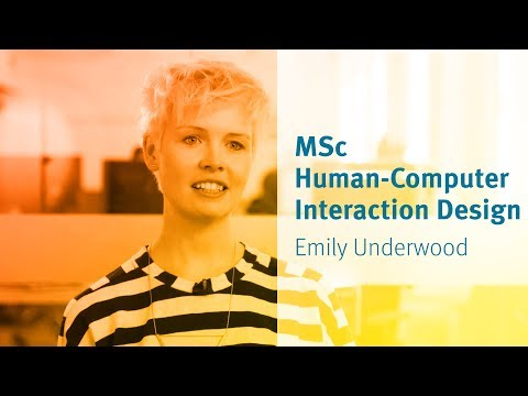 Human-Computer Interaction Design MSc  alumni - postgraduate perspectives