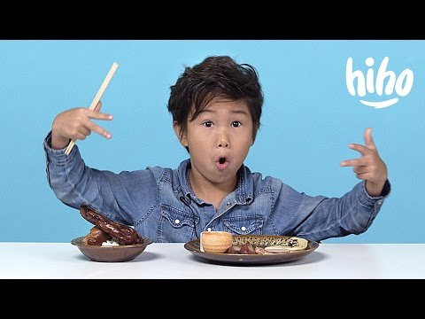 Chinese Food   American Kids Try Food from Around the World - Ep 6   Kids Try   Cut