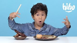 Chinese Food | American Kids Try Food from Around the World - Ep 6 | Kids Try | Cut thumbnail