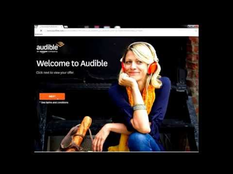 Audible Trick: Promo Code for 3 Months for ONLY $6 TOTAL! New & Old Accounts!