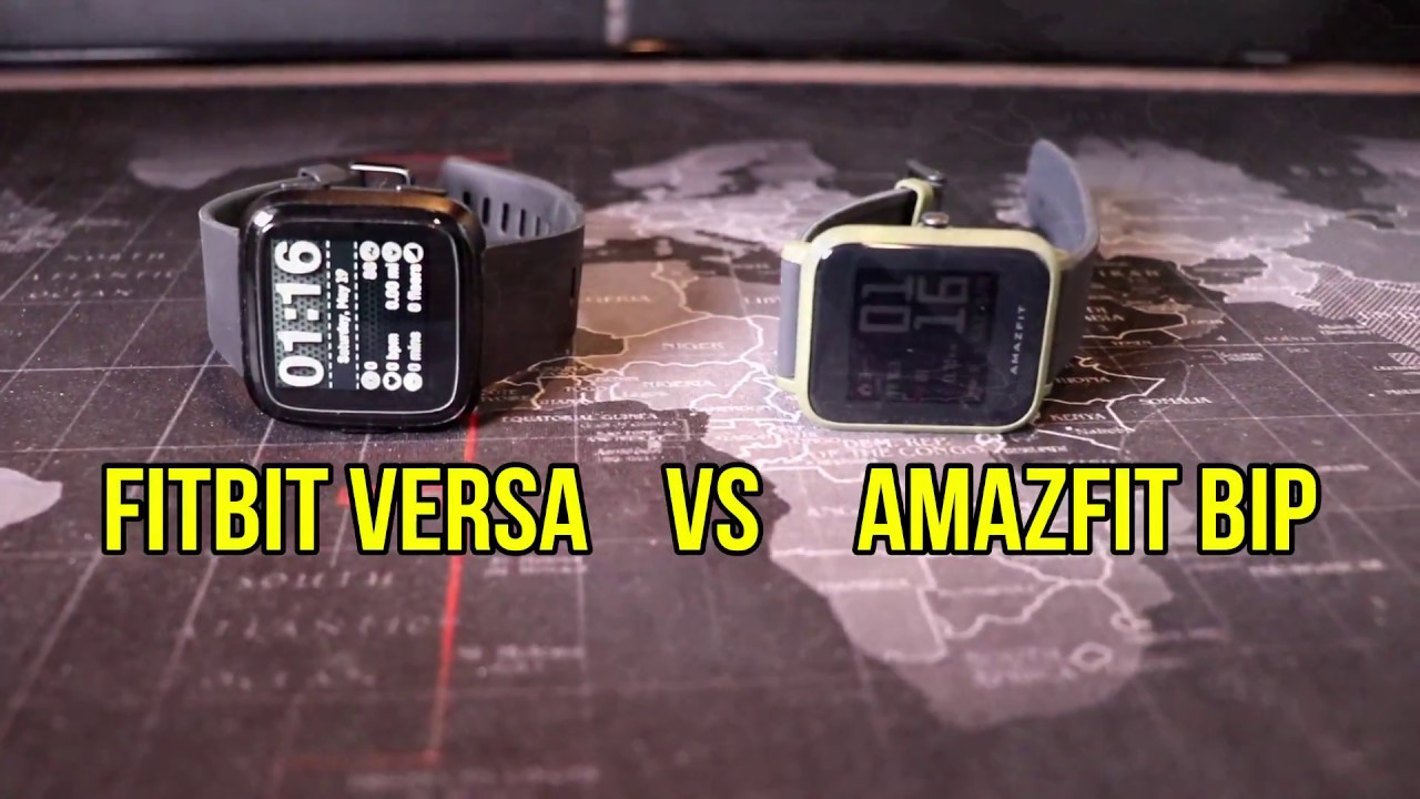 Fitbit Versa vs Amazfit Bip: Which is right for you?