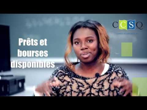 CCSQ - Collège de comptabilité et de secrétariat du Québec - témoignage de Saoudatou Diaby