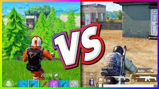 Fortnite Mobile VS PUBG Mobile