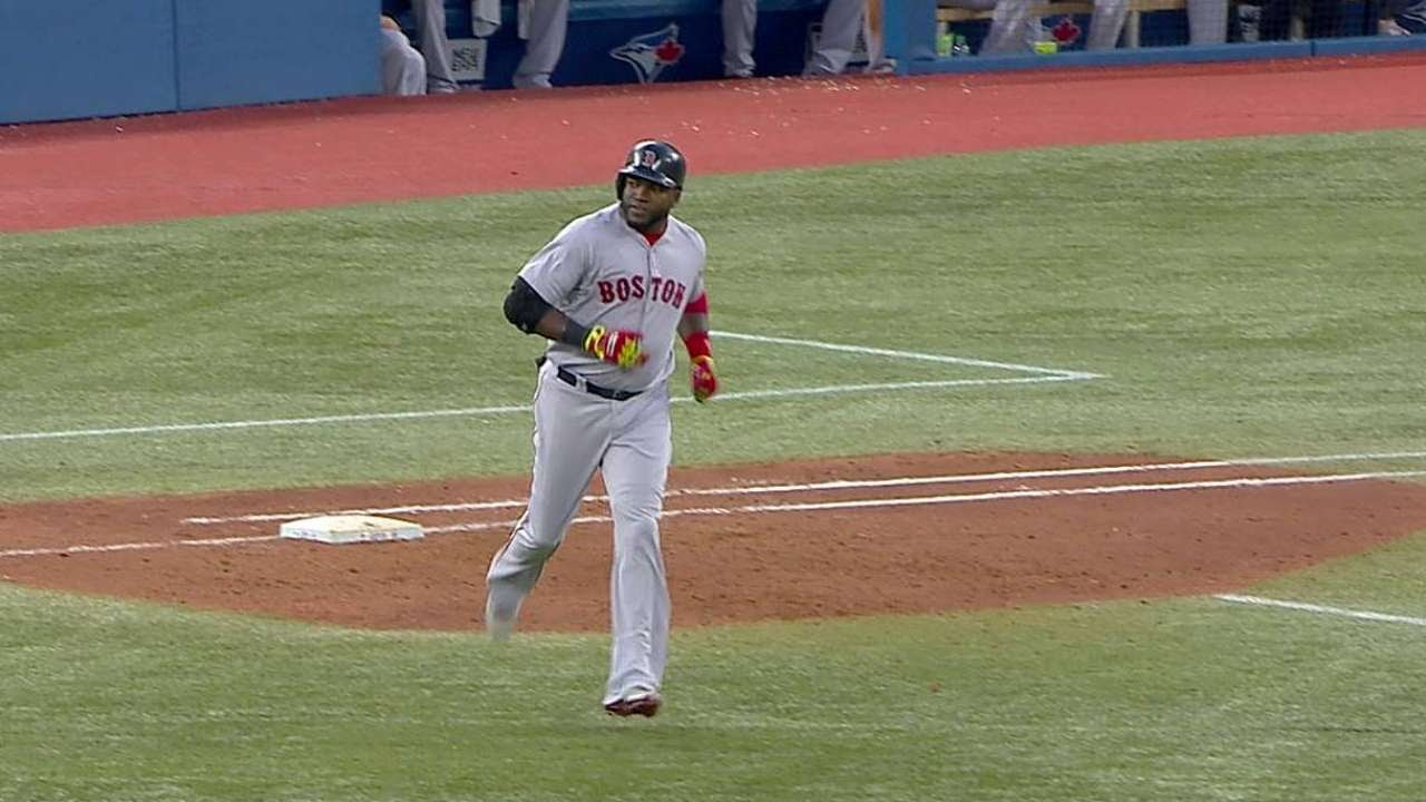 Papi passes Yaz with his second home run