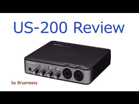 TASCAM US-200 Review / USB 2.0 Audio Interface