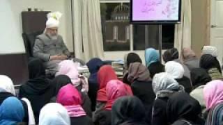 Gulshan-e-Waqfe Nau (Nasirat) Class: 2nd January 2010 - Part 1 (Urdu)
