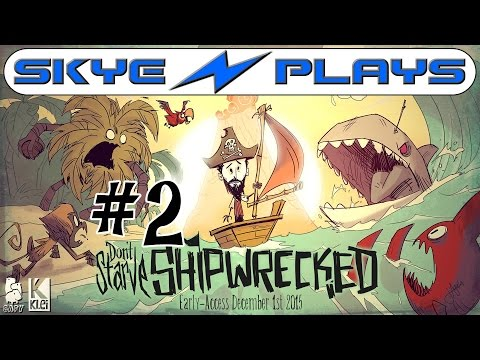 Don't Starve Shipwrecked Part 2 ►Island of the Monkeys!◀ Gameplay/Let's Play [1080p 60 FPS]