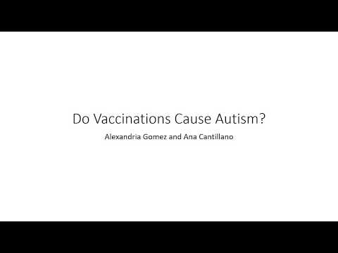 Do Vaccinations Cause Autism?