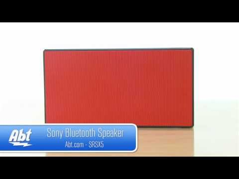 Sony Bluetooth Portable Speaker - SRSX5 Features