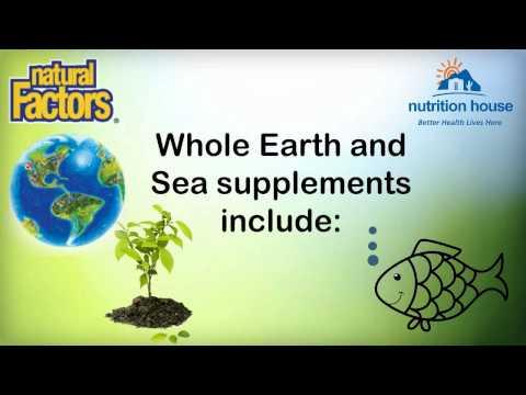 Whole Earth & Sea @nuritionhouse