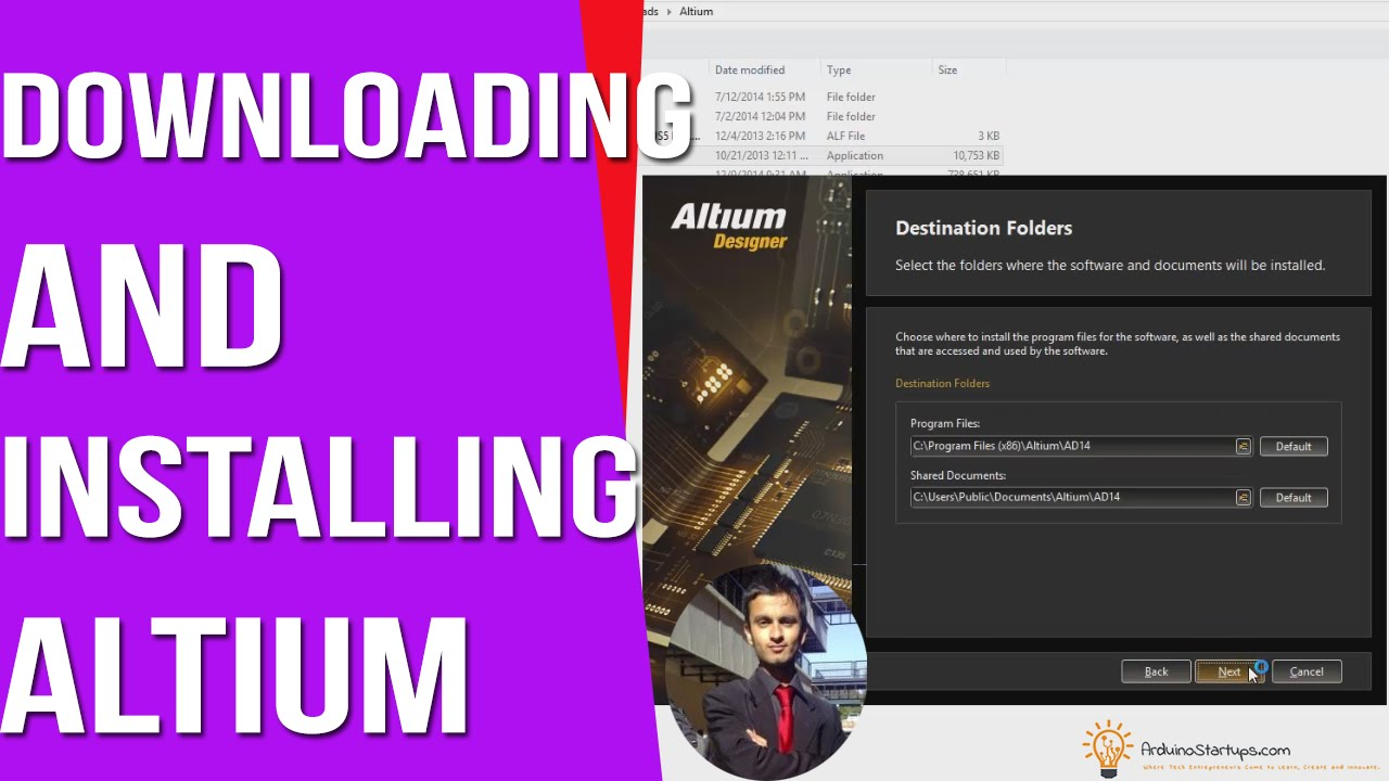 Downloading And Installing Altium Arduino Pcb Design Course Youtube