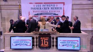 USS Intrepid Celebrates 70th Anniversary