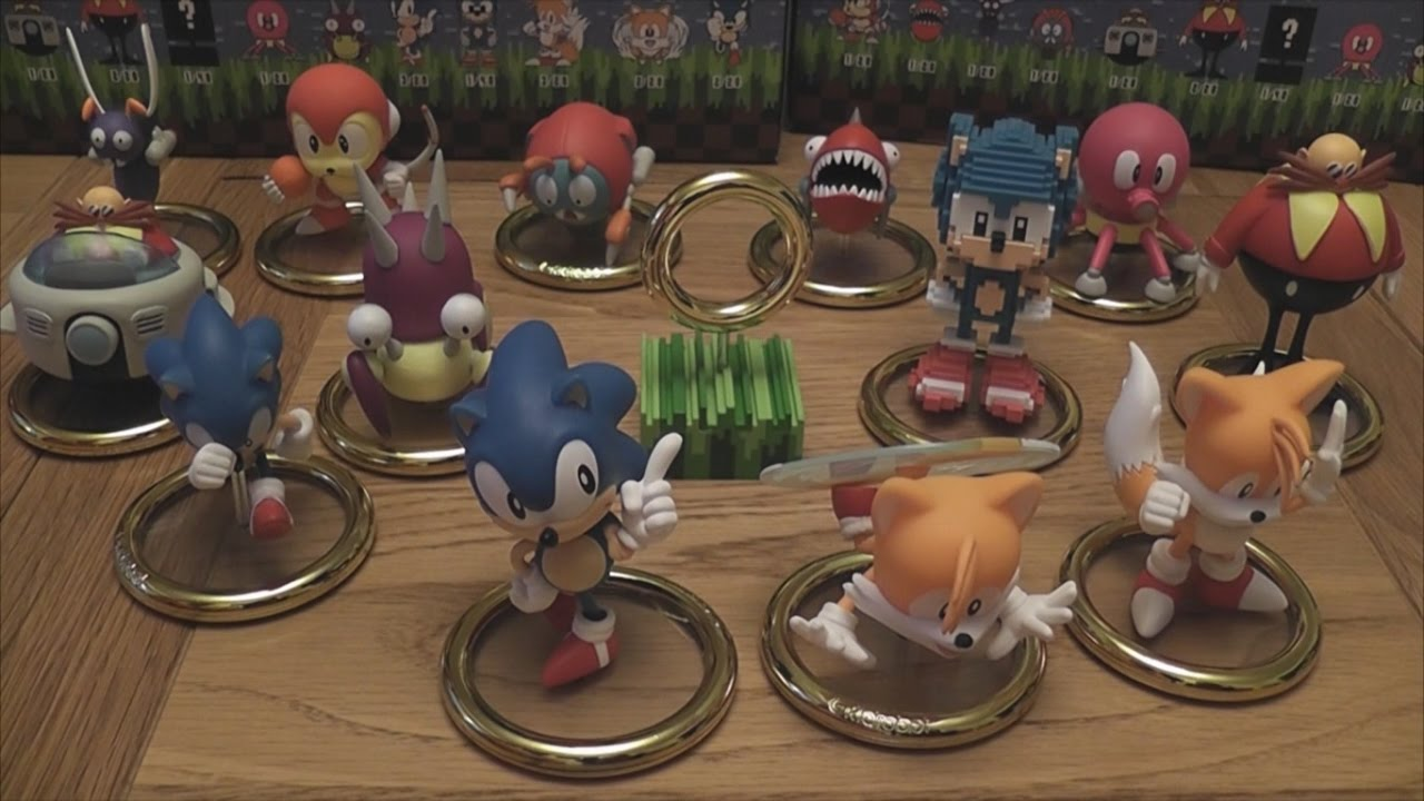 Sonic X Kidrobot Full Complete Vinyl Figure Collection Unboxing Review Youtube