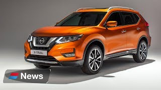 Nissan reveals 2017 facelifted X Trail SUV