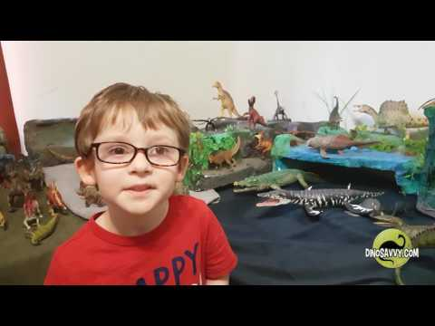 5yo lists 150 Animals From The Mesozoic for Canada's 150th Birthday (attempt 1…technical errors)