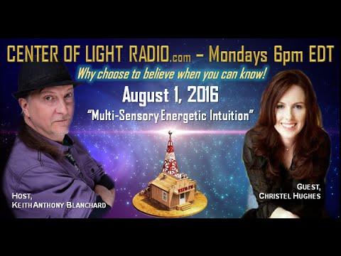 "CENTER OF LIGHT RADIO - Christel Hughes: ""Spiritual Trainer To the Stars"""
