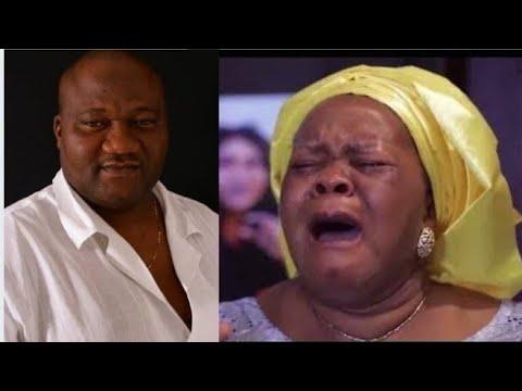 Download Bimbo Oshin In Uncontrollable Tears As She Loses Her Husband Ola Ibironke