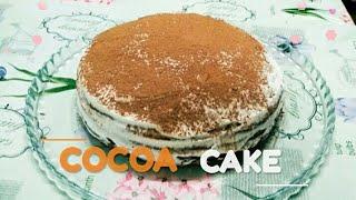 Cocoa cake. Торт какао. Очень вкусный и очень простой рецепт.