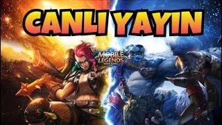 🔴Mobile Legends- Tworayz Canlı Yayın- Dereceli Oyunlar